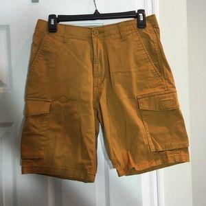 🍓Mustard Dockers Cargo Shorts - Flex comfort - 29